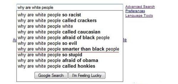 Perchè i bianchi
