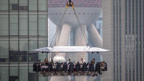 Ristorante sospeso Shanghai 2