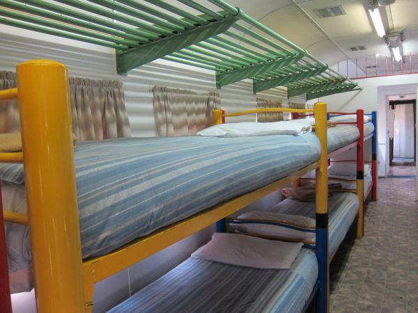 Santos Express Train Lodge: dormitorio
