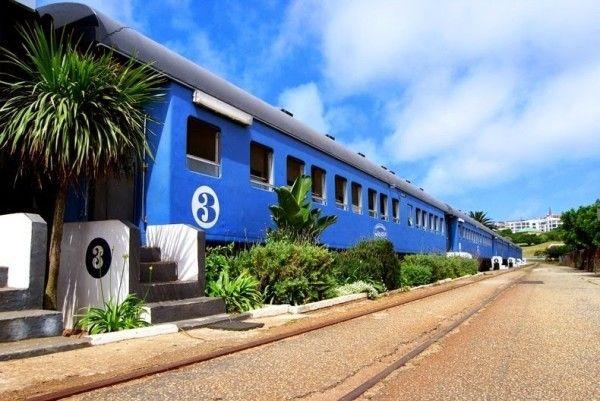 Santos Express Train Lodge: esterno