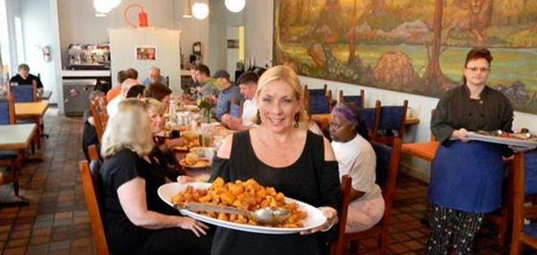 Marys Gourmet Diner: la proprietaria