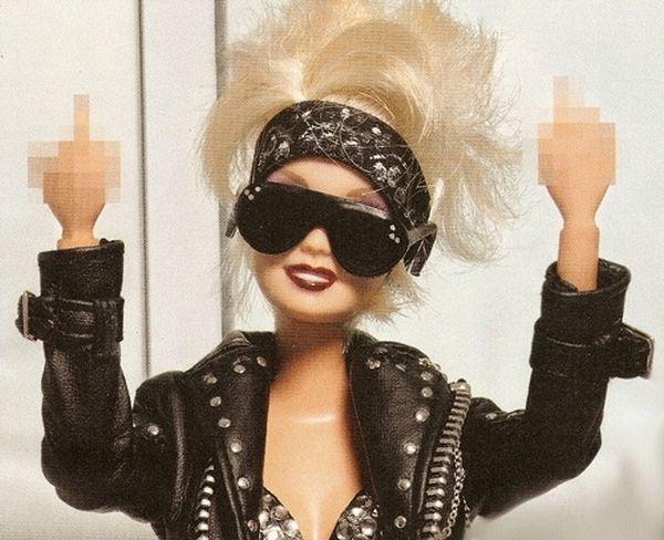 Barbie cattiva