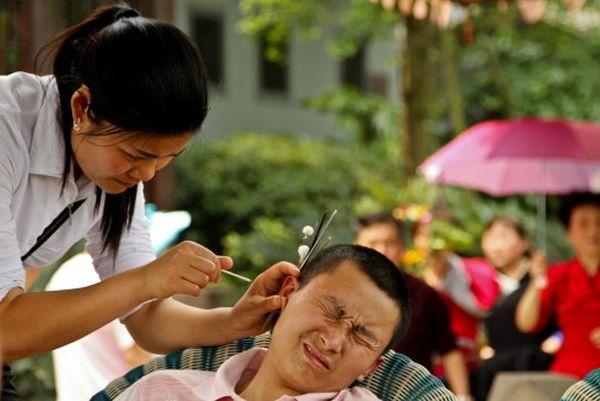 Salone pulizie per orecchie