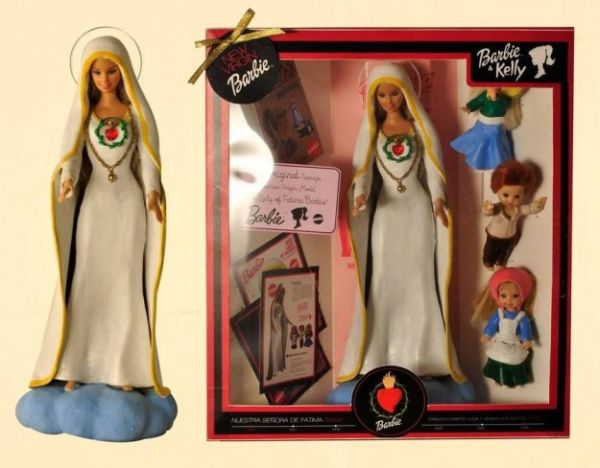 Barbie-Madonna di Fatima