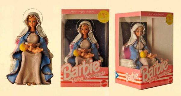 Barbie Vergine Maria con bambinello