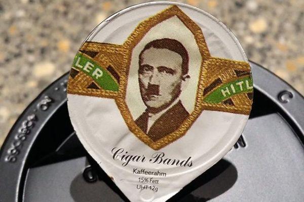 capsula per caffe con Hitler