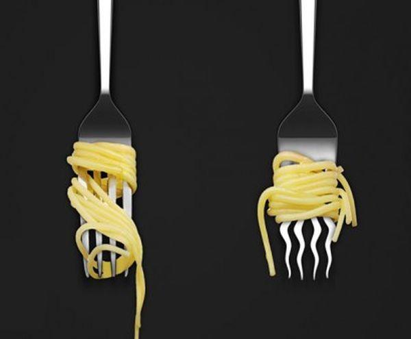 forchetta da spaghetti
