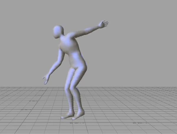 motion-capture good male dance moves