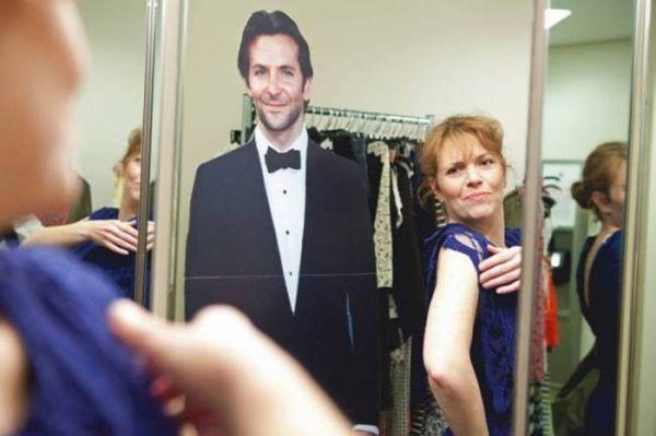 Danielle e sagoma Bradley Cooper: shopping