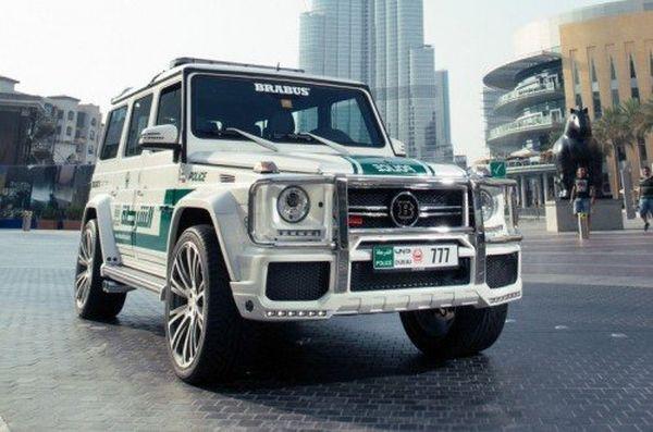 Fuoristrada Mercedes polizia Dubai