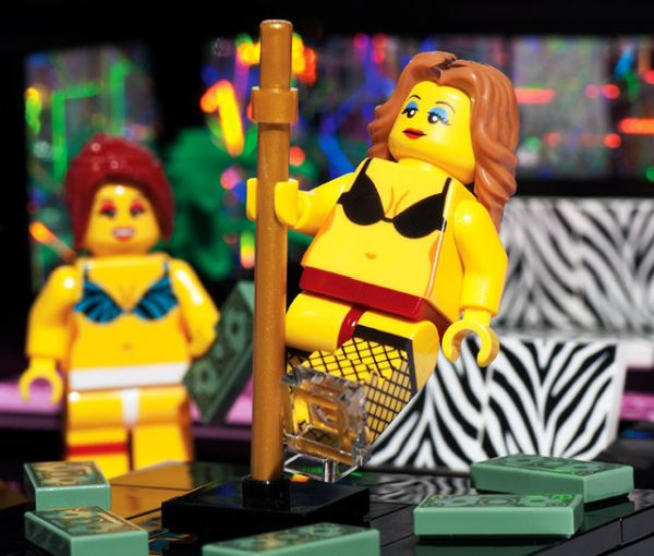 Lego Strip Club Set 2