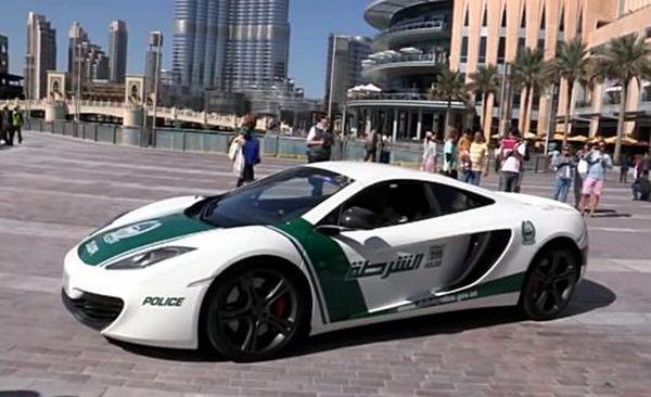 McLaren MP4-12C polizia Dubai
