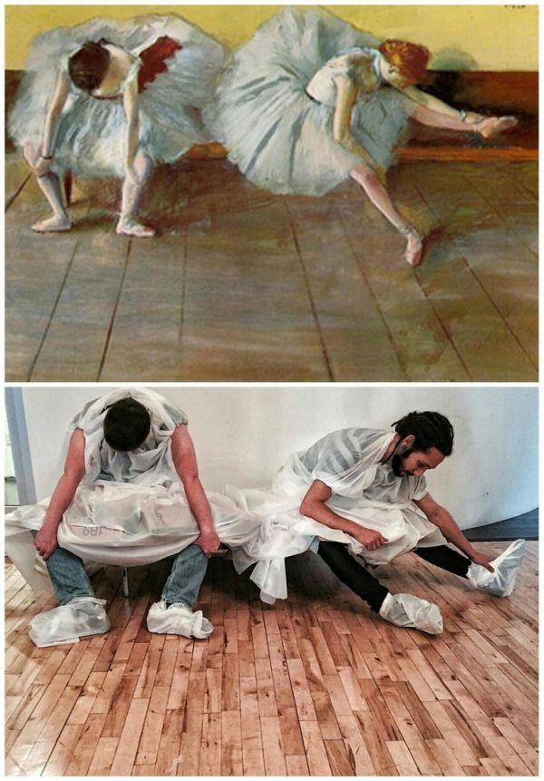 Due ballerine di Degas
