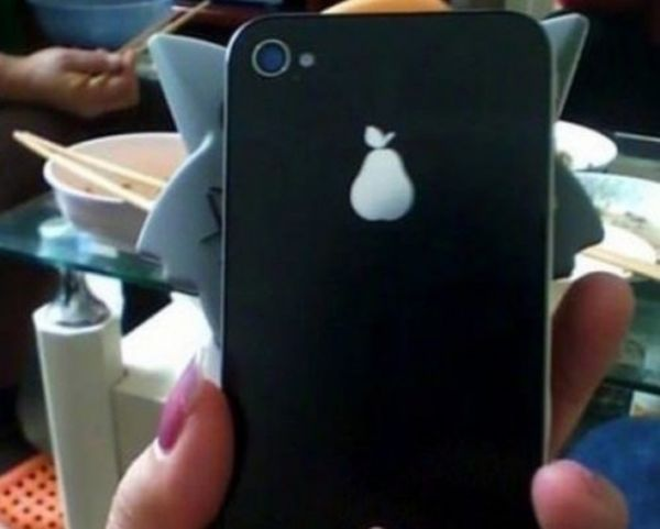 iPhone pear