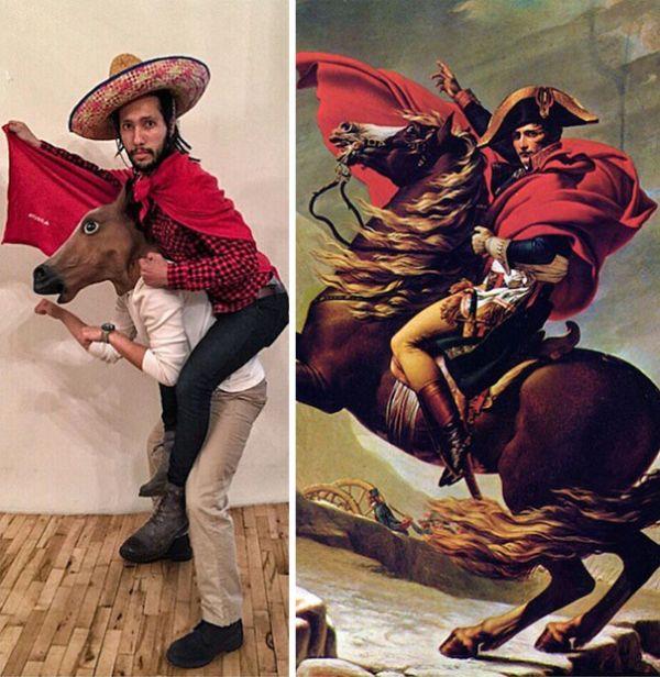 Napoleone attraversa le Alpi