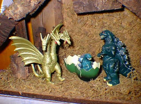 presepe-Godzilla