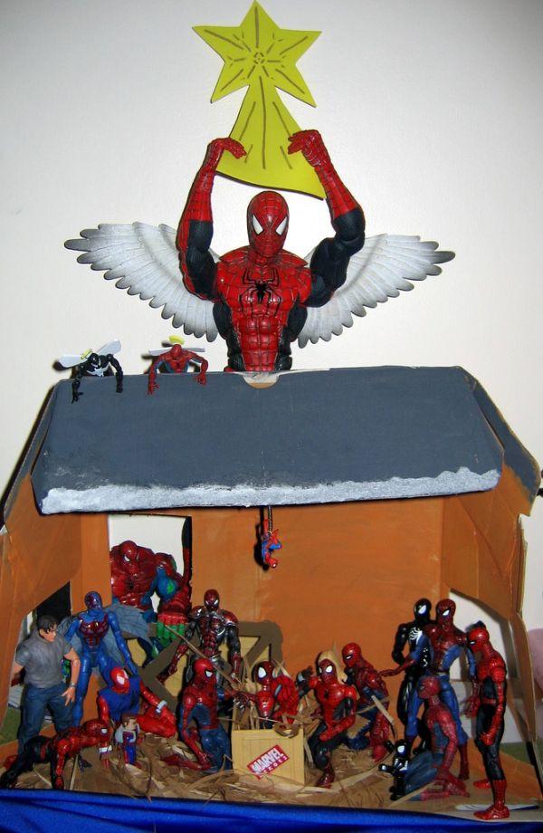 presepe-Spider-Man