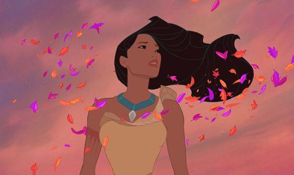 acconciature principesse: Pocahontas
