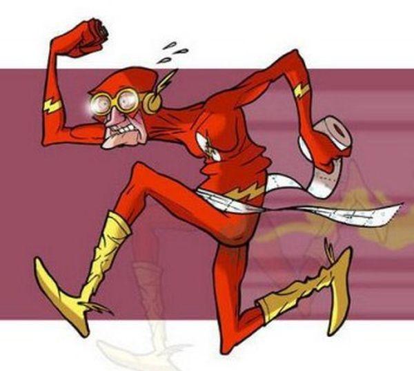 Flash Gordon anziano