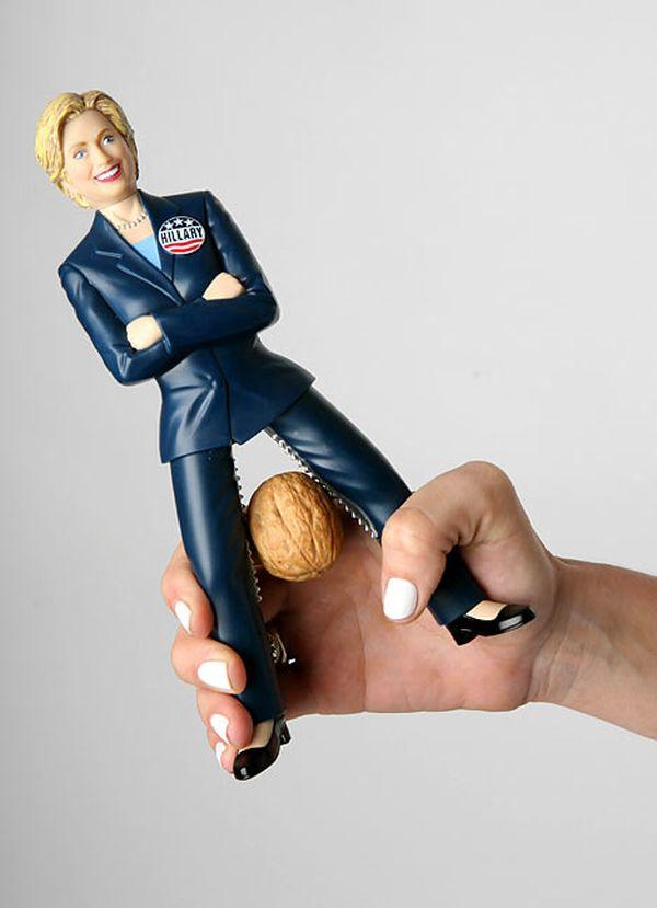 schiaccianoci Hillary Clinton