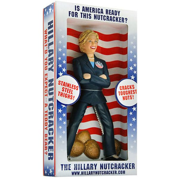 schiaccianoci Hillary Clinton: confezione