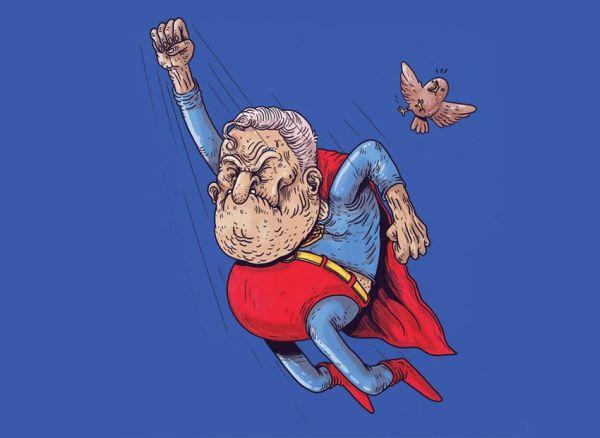 Superman anziano