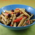 insalata di pasta con pesto