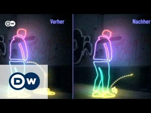 Muri che fanno rimbalzare l'urina