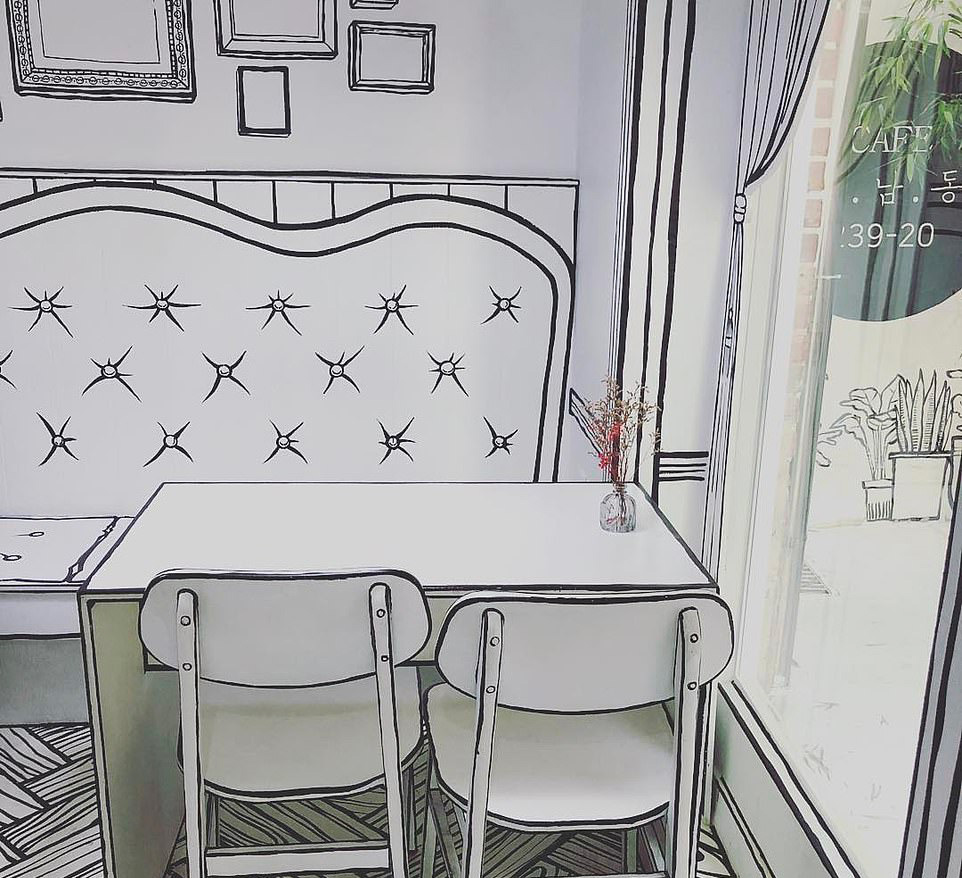 Cafe Yeonnam-dong a Seul, il bar che ti porta dentro un fumetto
