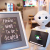 Pepper il robot che ti aspetta all'Enjoy Cafè di Budapest