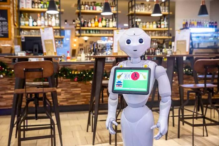 A Budaperst lo staff è composto da robot